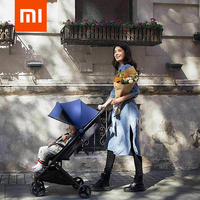 Xiaomi MiTU Folding Stroller Multifunctional Trolley Case For Babies Lightweight Portable Trolley Travel Aluminium Baby Stroller