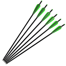 Free shipping 12 pcs/lot aluminum crossbow Bolt 20″ 2219 completed w/ nock insert screw tip vanes hunting archery bow outdoor
