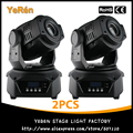 (2PCS) 90W Led Moving Head Spot Light DMX 14CHs Professional Stage Lighting Equipment DJ Gobo Light