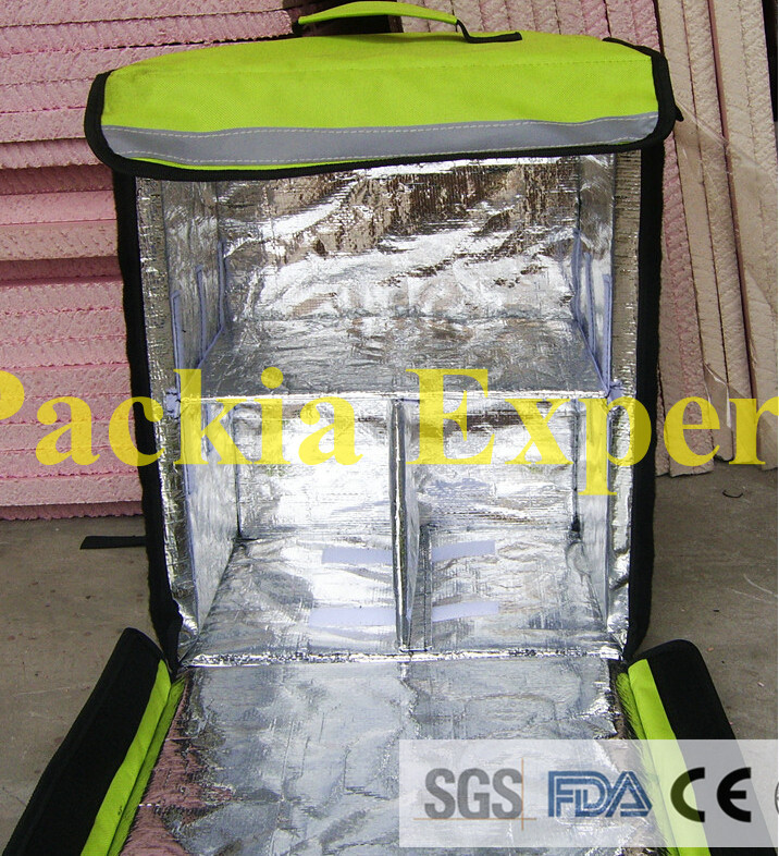 Backpack fast food insulation insulation package, pizza delivery bag pizza delivery bag Take out food hct011 25x23x500mm fast delivery 8pcs pack 100
