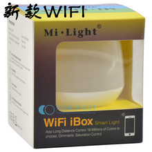 10pcs New MiLight WIFI 2.4G Wireless iBox1 LED wifi Controller WiFi Hub for all Mi.Light LED Bulb Lamp Support iOS Android APP