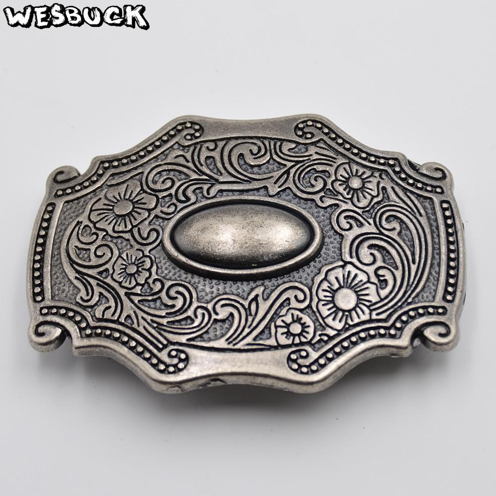 WesBuck Brand Hot Sale Belt Buckle Metal New Western Men Women Belt Buckles