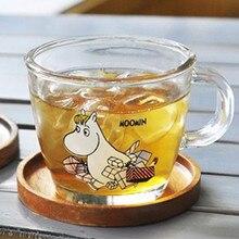 Cute Moomin Wedding Glass Mug With Lip Water Glass For Drinking Kirilmaz Cam Drinking Glasses Kadeh Bardak