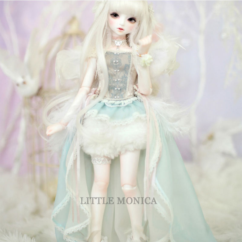 Littlemonica LM Sophia 1/4 bjd/sd bjd sd doll body baby girls boys dolls Joint doll eyes High Quality toys shop Girls' Toys handsome grey woolen coat belt for bjd 1 3 sd10 sd13 sd17 uncle ssdf sd luts dod dz as doll clothes cmb107