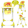 Baby Multi-function High Chair Children Eat Highchair Folding Feeding Chair Infant Simple Eat Desk and Dinner Chair Adjusted