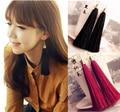 Momoko черный старинный кисточкой серьги длинные серьги большие серьги серьги бесплатная доставка C45-C50