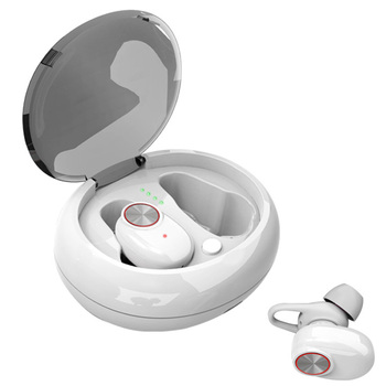 Wireless Headphone Portable Handsfree Music Bluetooth Dual Earbud Headset Earphone Stereo