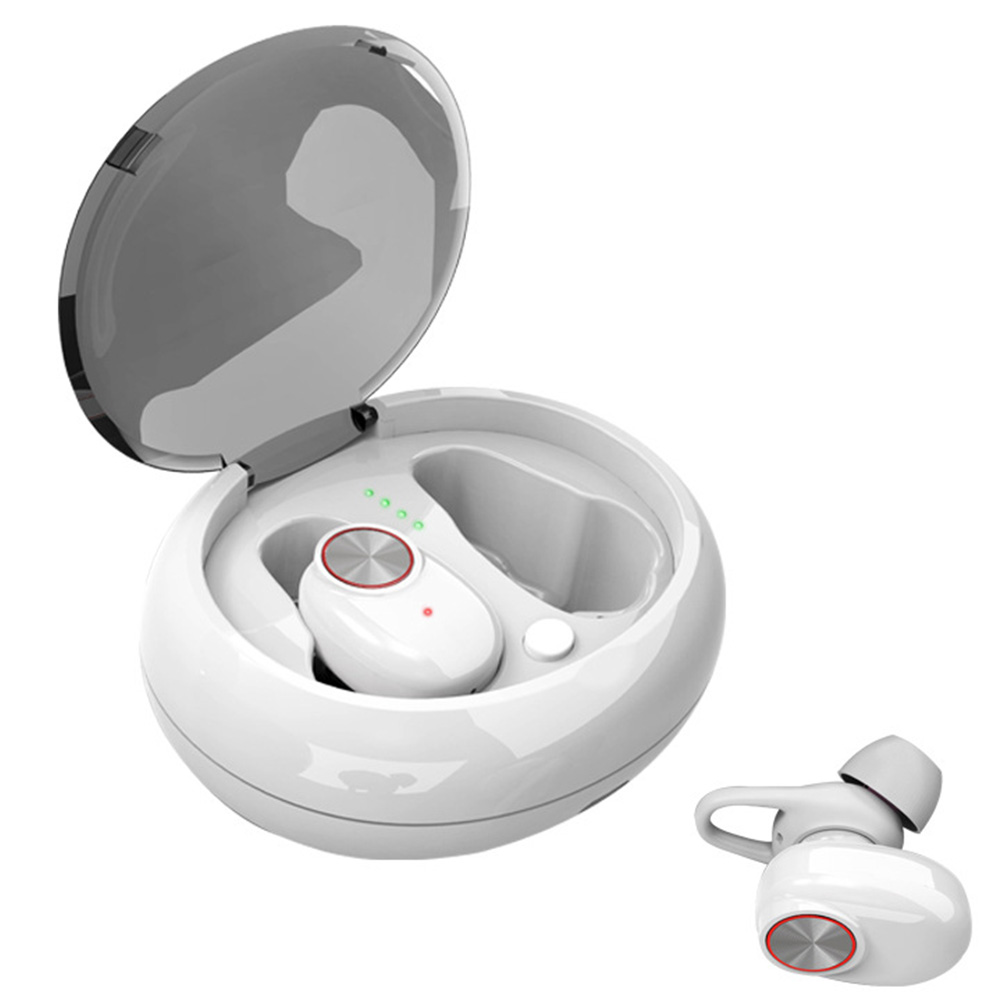 Wireless Headphone Portable Handsfree Music Bluetooth Dual Earbud Headset Earphone Stereo