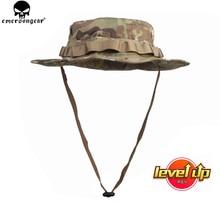 ايمرسونجير التكتيكية Boonie قبعة صيد الجيش قبعة Boonie الادسنس التمويه الصيد الشمس قبعة ايمرسون متعددة حدبة EM8553