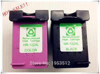 2pcs For HP 122 XL Ink Cartridge For Hp Deskjet T 1000 1050 2000 2050 1510