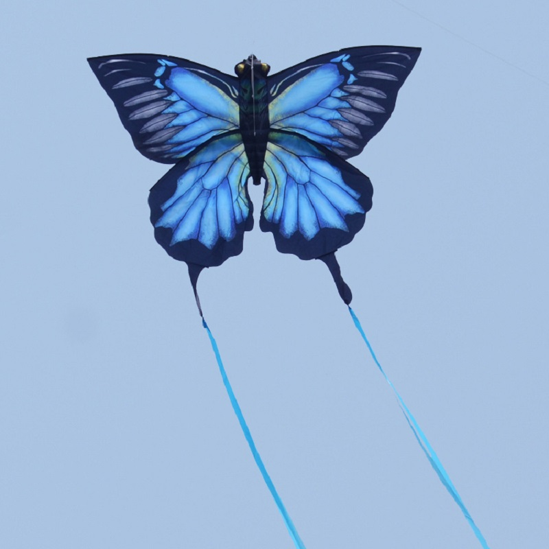 Super 3D Butterfly Kite Creative Stereo Kites With 5M Tail Easy to fly Outdoor Sport Toys Chidlren and Adults Toy Gift image