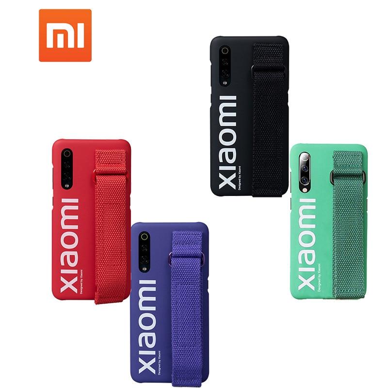Original xiaomi mi 9 8 se Redmi note 7 case ultra thin matte back cover for mi9 mi8 street style case hand strap fashion cases-in Half-wrapped Cases from Cellphones & Telecommunications
