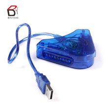 ADAPTER CONVERTER Interface Adapter cable For PS1 PS2 PSX to PC USB CONTROLLER ADAPTER CONVERTER Dual Playstation 2 PC USB Joypad Game Controller