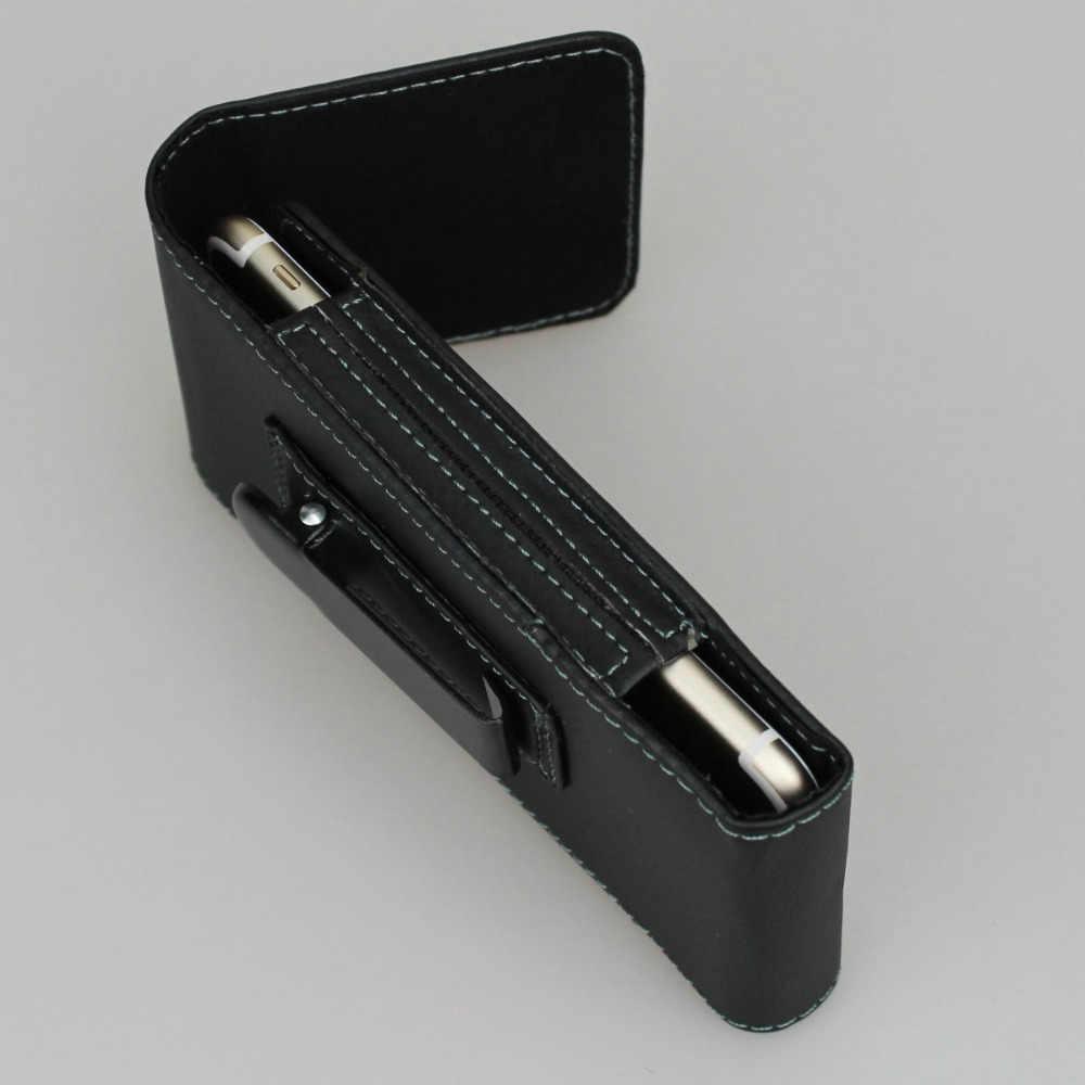 عمودي حزام كليب الحديد المشبك الحافظة بولي Leather الحقيبة الجلدية المغناطيسي المفاجئة آيفون 8 4.7 بوصة (صالح الهاتف مع رقيقة واقية)