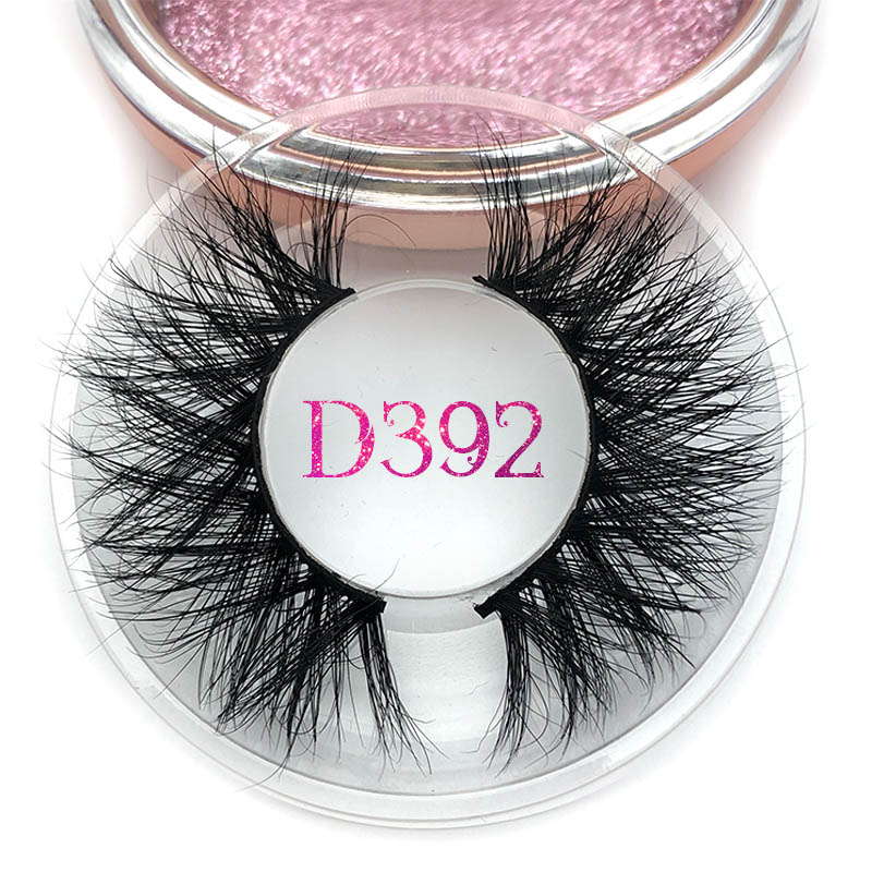 Mikiwi 30 Styles 3D Mink Lashes Thick HandMade Full Strip Lashes Cruelty Free Luxury Makeup Dramatic Rose Gold Round Case Lashes