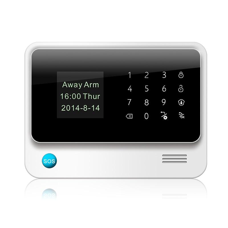 imágenes para Fuers 2017 Actualización G90B 2.4G WiFi GSM SMS de Wireless Home Seguridad Sistema de Alarma IOS Android APP Control Remoto