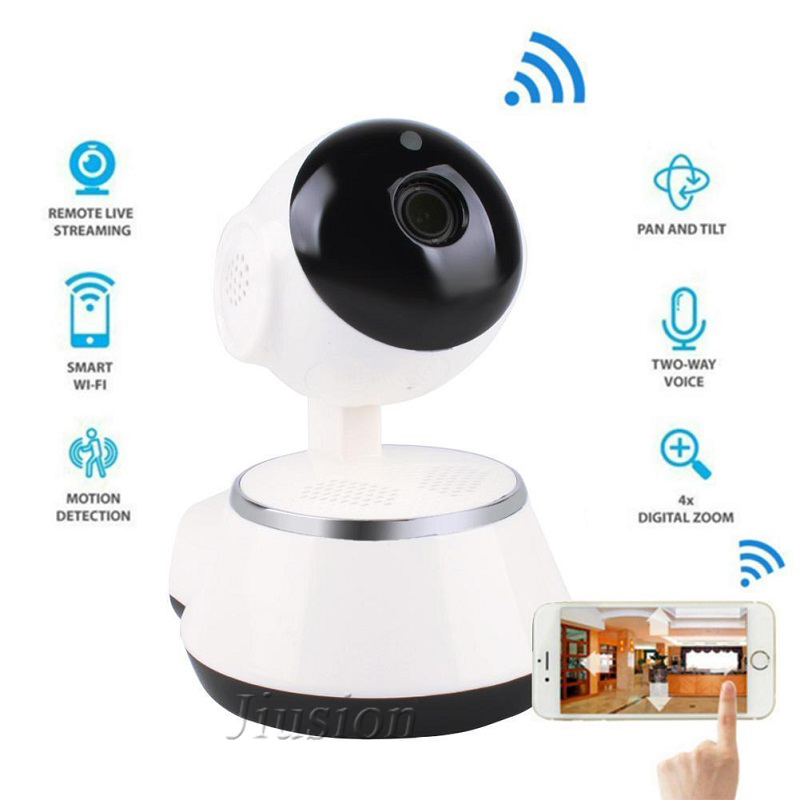 Professional Wifi Camera Surveillance Cam Cloud Storage 2 Way Audio Motion  Detection Night Vision
