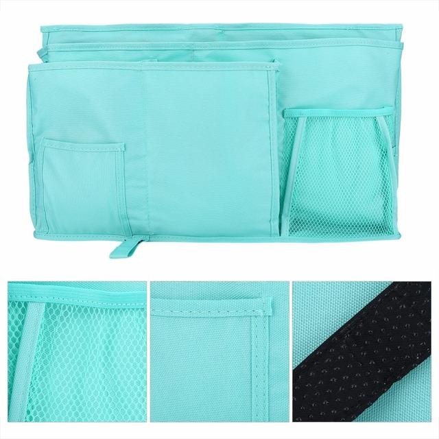 Oxford Fabric Baby Bedding Bedside Hanging Storage Bag 2018 Hot Sale Book Bottle Toys Organizer Diaper Pocket For Crib Bedding