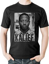 Kalief Browder T Shirt Netflix Rikers Island The Bronx NYC New York USA Tee Printed T-Shirt Pure Cotton Men Top