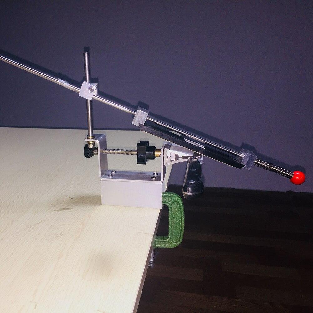 KME Couteau Aiguiseur Professionnel Plus Grande Degré Date Portable 360 Degrés de Rotation Fixe angle Apex bord