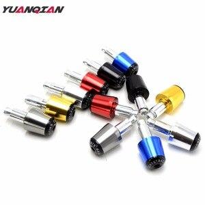 Image 1 - Motorcycle Handlebar Handle Bar Grips Ends For Yamaha YBR125 YBR 125 YZF600 YZF 600 R1 R3 R6 R125 R25 T MAX T MAX TMAX 530 500