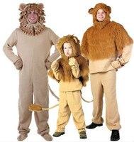 ライオン衣装子マウンテンライオン衣装メンズライオン衣装大人の動物コスプレ服ハロウィン衣装動物パーティ