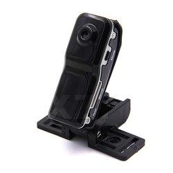 Alta qualidade 1 pçs md80 mini dv dvr esportes câmera para bicicleta/moto gravador de áudio vídeo 720 p hd dvr mini câmera + suporte