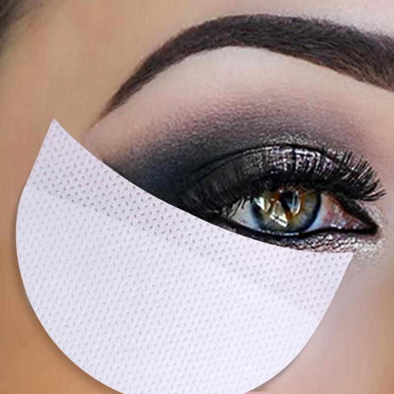 20Pcs 50Pcs Makeup Eye Shadow Stickers Eyeshadow Eyelash Extention Grafting Transfer Under Eyelash Paper Isolation Tape Stickers