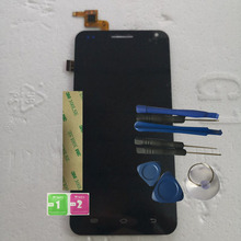 RYKKZ For Bmobile AX745 LCD Display With Touch Screen Digitizer Assembly Replacement With Tools+3M Sticker