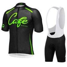Cafe ropa ciclismo MTB Bicicleta de Carretera Bicicleta Jerseys ropa MTB bike ropa Roupa Ciclismo 3D GEL Pad