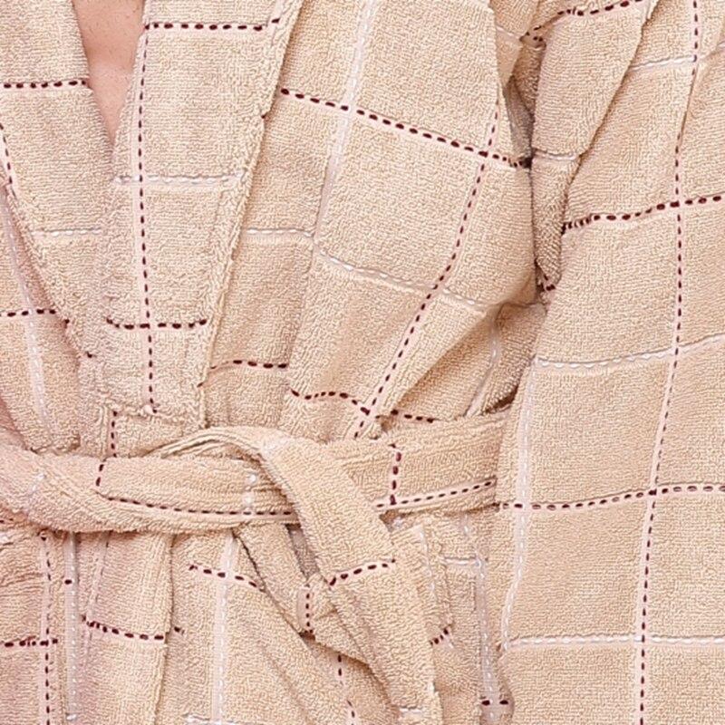 Cotton bathrobe women sexy towel sleepwear bathrobe for girls blanket  thickening lovers medium long robe winter-in Robes from Underwear    Sleepwears on ... ac3aa2507
