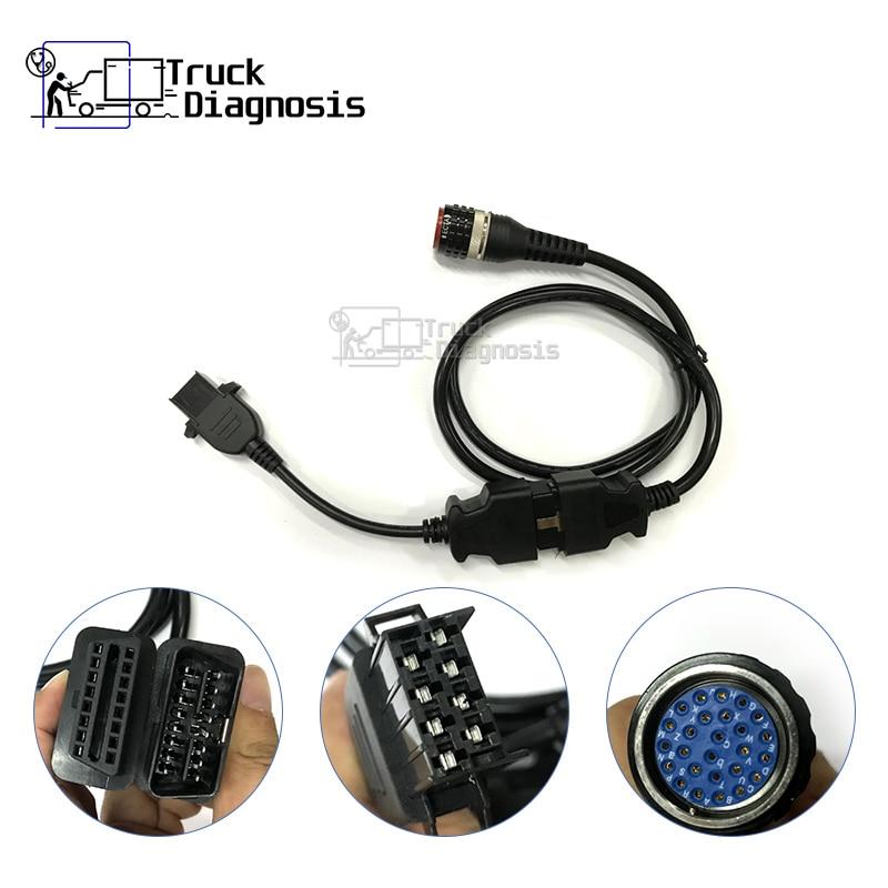 8pin FCI Cable Vocom 88890306 with vocom 88890304 OBD2 Cable for volvo Vocom 88890300 vocom ii