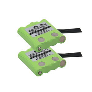 2pcs/lot 4.8V 700MAH NI-MH rechargeable Battery Pack For Uniden BP-38 BP-40 BT-1013 BT-537 GMR FRS 2Way Radio batteries batteria(China)