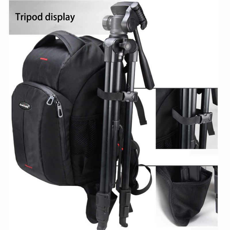 2018 Jealiot المهنية على ظهره ل حقيبة كاميرا foto DSLR SLR ظهره مقاوم للماء فيديو صور الرقمية حقائب لكانون