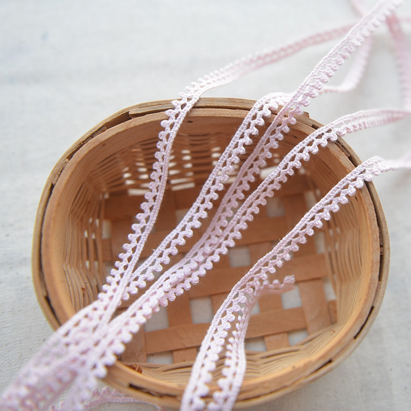 2 Metres lace 25mm wide bilateral edge net trim sewing crafts