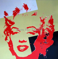 Hand painted marilyn monroe oil painting on canvas art pop 58196 JBO