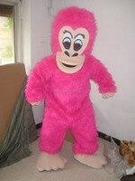 mascot pink Gorilla ape mascot costume custom fancy costume anime cosplay mascotte theme fancy dress carnival costume