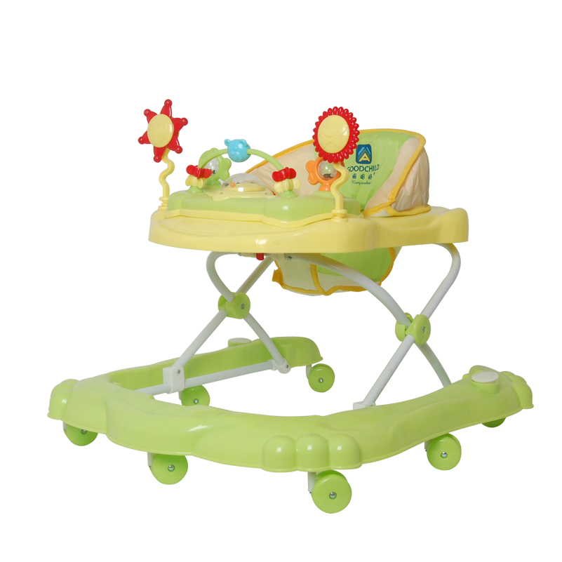 Hot Sale Children Baby Walker Multifunctional Music Plate U Type Folding Easy Anti-rollover Safety Andador Light Baby Walkers musical and flashing light baby walker cheap kids walker hot sale walkers