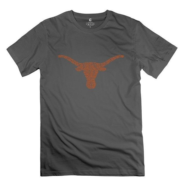 4b646a5ad4b3bb Men's New 100% Cotton T University Of Texas Austin Natural-in T ...