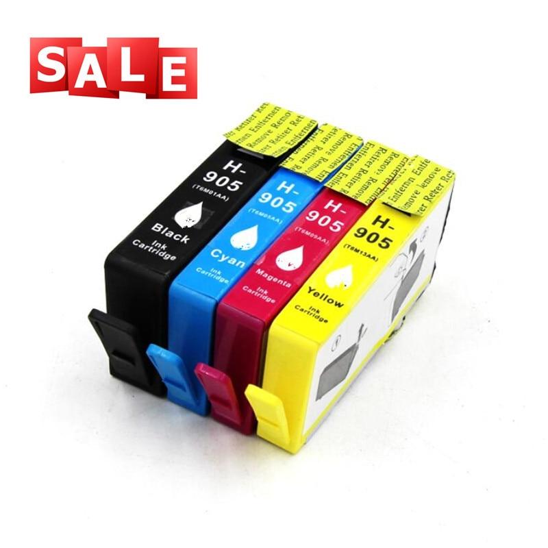 905 Ink Cartridge inkjet Printer Replacement for HP 905 BK C M Y Officejet Pro 6968 6970 6971 6974 6975 6976 6978 6979