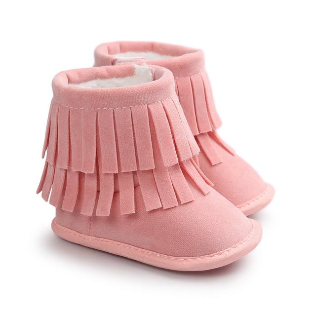 Zapatos rosas de invierno infantiles 4RFURU6E