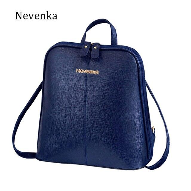 Nevenka Fashion Women Bag Feminine Small Casual Backpack Student Bags Shoulder Bag Teenagers Backpacks Mochila Satchels Sac