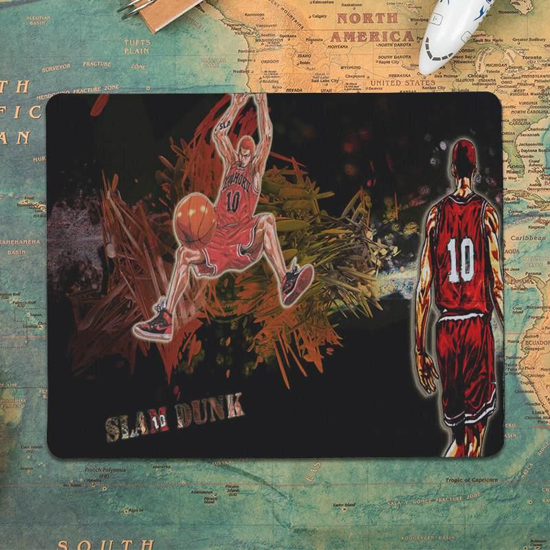 MaiYaCa баскетбольный Slam dunk Противоскользящий прочный резиновый коврик размер мыши 18x22 см 25x29 см игровые коврики для мыши-2