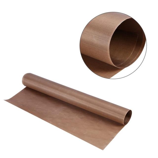1 шт. 60*40 см многоразовая выпечка коврик, высокотемпературный устойчивый тефлоновый лист, термостойкая накладка, антипригарный, для наружного барбекю