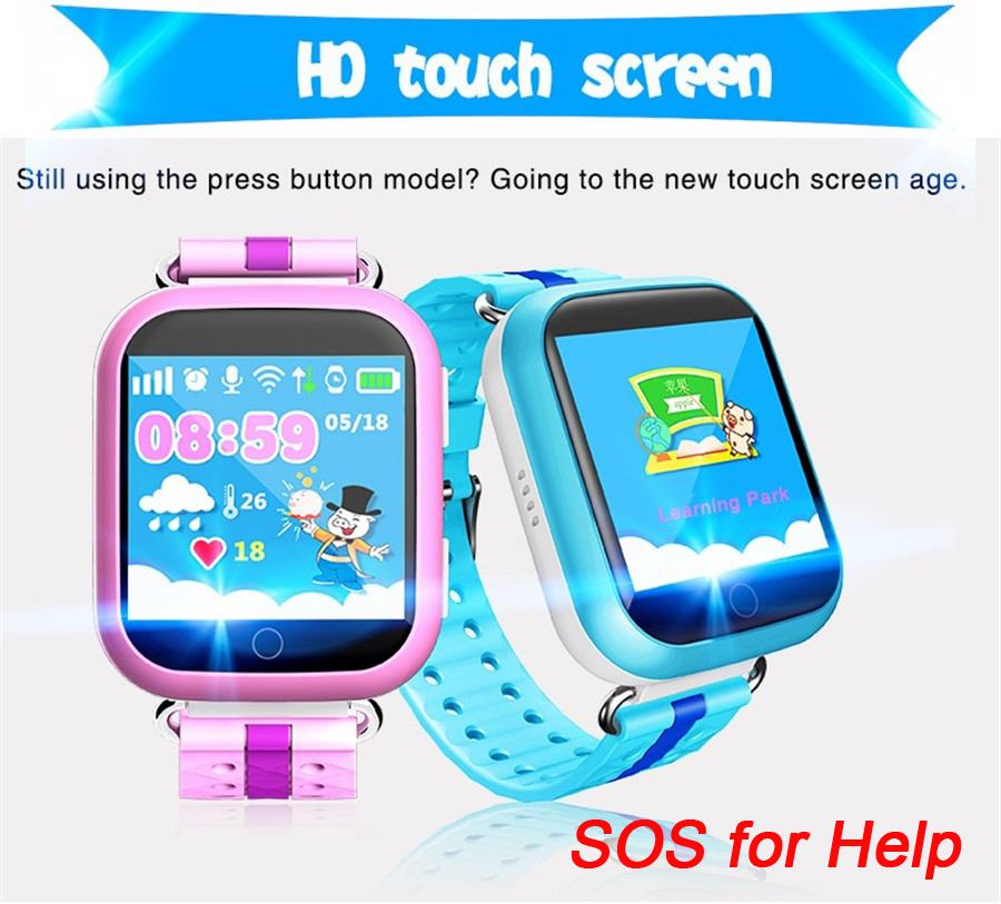 GW200S Baby GPS Watch with Wifi Positioning 1.54 Inch Color Touch Screen SOS Tracker Safe Anti-Lost Kids GPS Watch PK Q50 q60 smart baby watch q60s детские часы с gps голубые