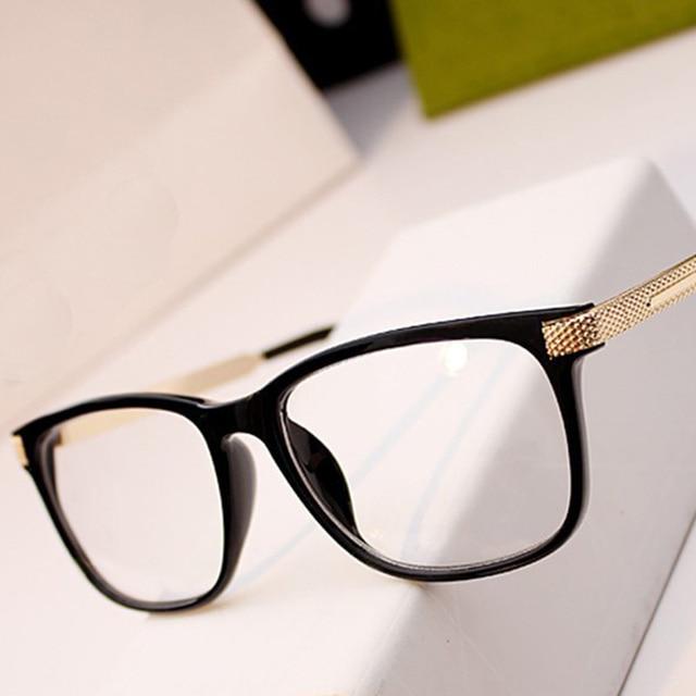 New Fashion Women Eyeglasses Retro Vintage Optical Reading Spectacle Eye Glasses Frame Men Women Brand Designer SgxFzxQ8X6