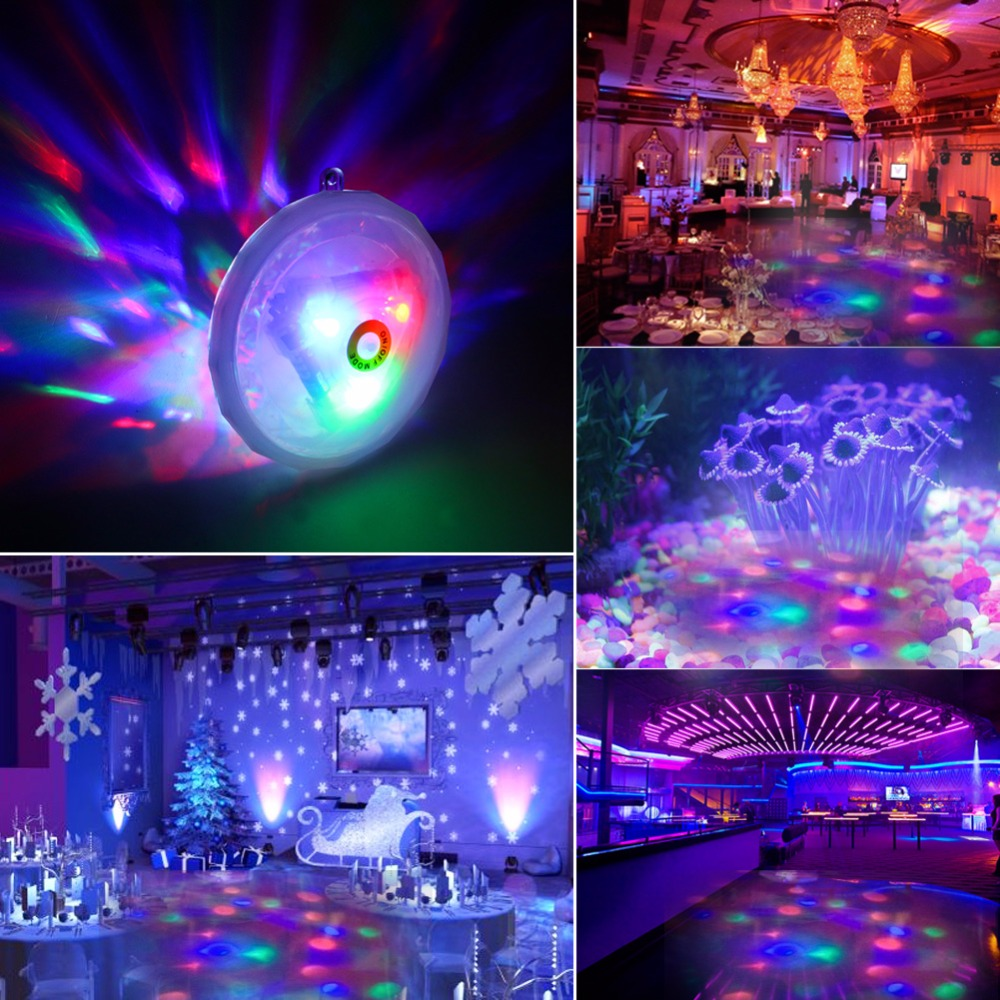 Us 6 72 20 Off New Underwater Led Fountain Aquarium Light For Pond Spa Hot Tub Disco Swimming Pool Floating Lamp 6v 3aaa Operated In