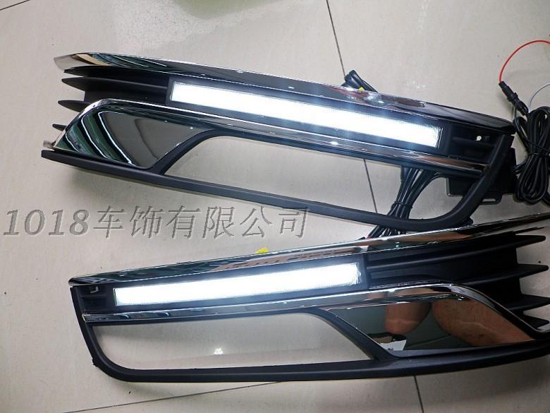 OsMrk автомобиля Сид DRL дневные ходовые огни для VW Пассат В7 Профессиональный автомобиль конкретных 2012 супер яркие светодиодные чипы