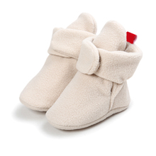 Infant Baby Boy Shoes Newborn Baby Winter Crib Shoes Booties Baby Toddler Shoes for Girl Boy Moccasin
