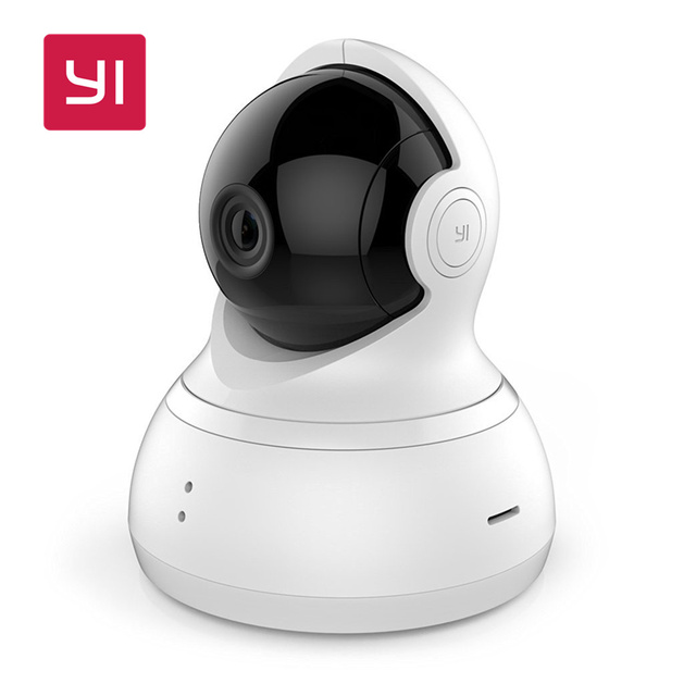 YI Dome Camera 1080P Pan/Tilt/Zoom Wireless IP Security Surveillance System Night Vision International Version (EU/US Edition)